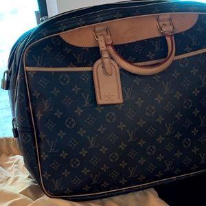 Louis Vuitton Alize 24 Heures Monogram Weekend/Tra